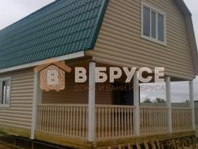 деревянный дом для постоянного проживания 9х6