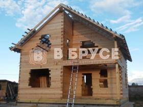проект дома 8х8 под крышу