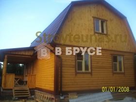 этапы строительства деревянного дома 8х8