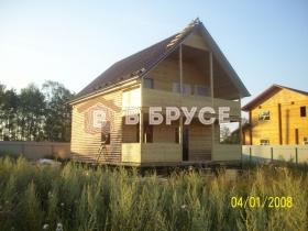 Общий вид красивого дома