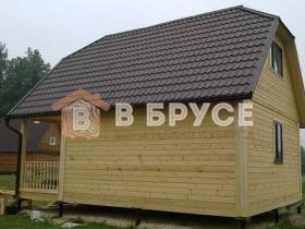 этапы строительства брусового дома 6х8