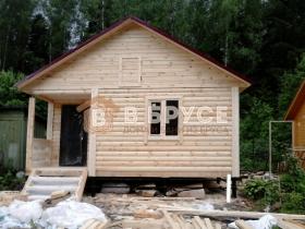 этапы строительства деревянного дома на садовом участке