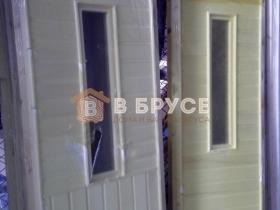 Банные двери осина