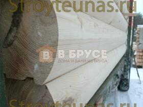 Профилированный брус размером 14х14см