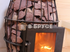 печка овальная