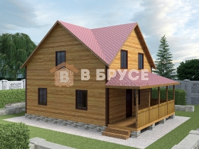 полноценный двухэтажный дом