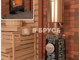 Красивая печка для бани фото