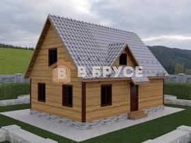 Дом с равносторонней крышей и кукушкой
