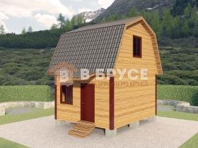 дачный домик 4х5