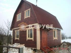 дачный дом с мансардой 6х6 в классическом стиле