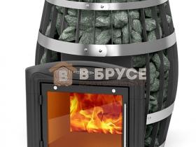 круглая печка в баню