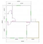 первый этаж планировка дома из бруса