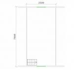 планировка 2 этажной бани