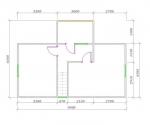 планировка второго этажа с балконом