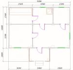 планировка бани в 1 этаж