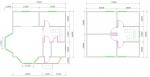 планировка мансардного дома с эркером