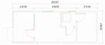 планировка одноэтажной бани 8 на 3