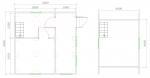 планировка дачного дома 6х6