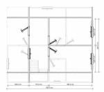 план второго этажа 7х8