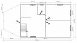 план дома первого этажа 6х12