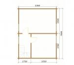 план 2 этажа в доме небольшом и красивом