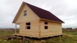Дачный дом без отделки 8х8