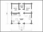 план расположения комнат на втором этаже