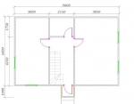 планировка первого этажа двухэтажного дома