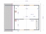 планировка зоны отдыха на мансардном этаже