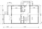 план первого этажа дома дачного брусового дома