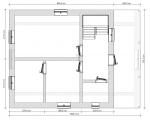планировка дома с террасой 1 этаж
