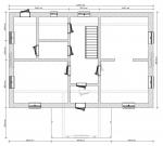 планировка одного этажа