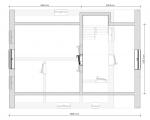 план второго этажа дома с террасой
