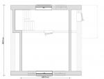 планировка 2 этажа дома небольшого
