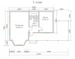 планировка первого уровня в большом загородном доме