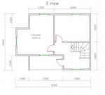планировка спальной зоны на втором этаже