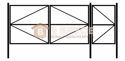 Ворота с калиткой Великий Новгород