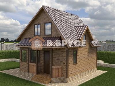 разноуровневая крыша с мансардой