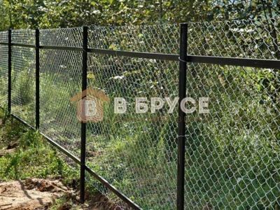 Забор сеткой в Великом Новгороде