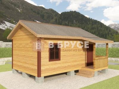 одноэтажный домик 5,5х6