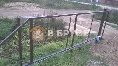 фото откатных автоматических ворот