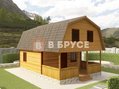 фото дома 6х9 с террасой