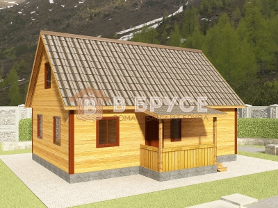 модель жилого домика