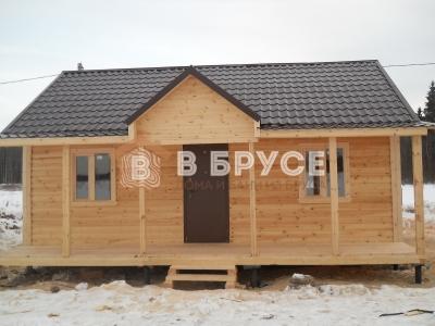 готовый дом из бруса проект 94