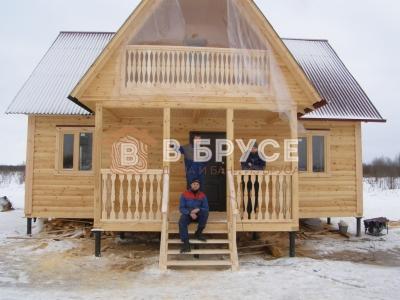завершение строительства двухэтажного дома