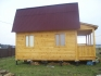 садовый домик с мансардой построен под ключ