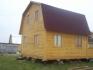 дом из бруса с просторной террасой