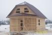 Мансардный дом из бруса без отделки 6х12 фото