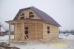 дом из бруса 6х12 с мансардой