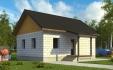двухскатная крыша в доме